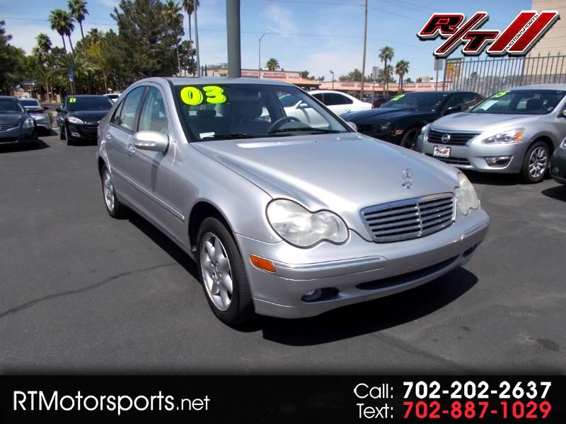 2003 Mercedes-Benz C-Class C320 Sport Sedan