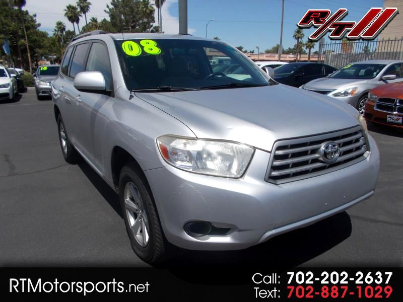 2008 Toyota Highlander Base 4WD