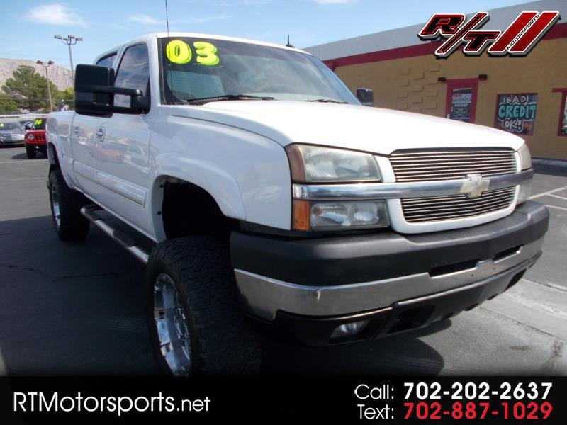 Chevrolet Silverado 2500HD LT Crew Cab Long Bed 4WD 2003