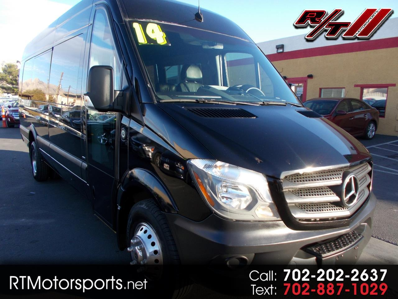 Mercedes-Benz Sprinter 3500 High Roof 170-in. WB 2014
