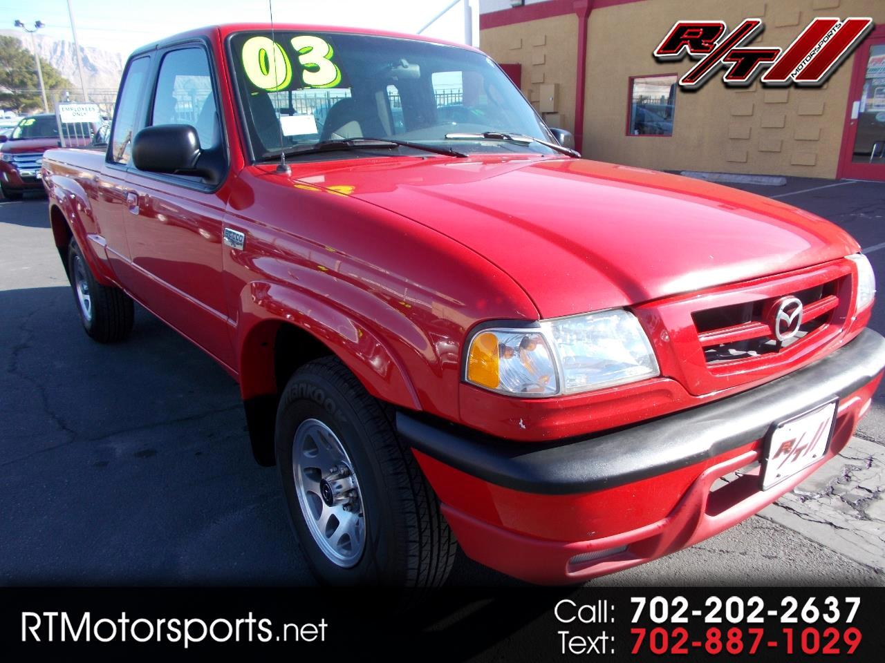 Mazda Truck B4000 Dual Sport Cab Plus 2WD 2003