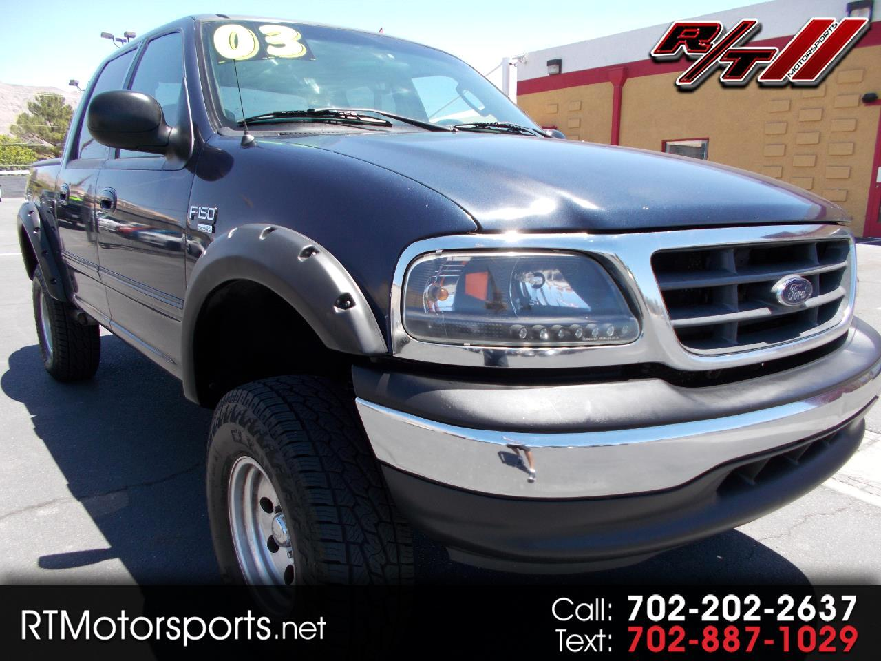 "Ford F-150 2WD SuperCrew 145"" XLT 2003"