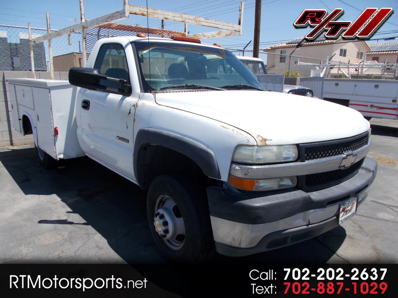 Chevrolet Silverado 3500 Regular Cab 2WD 2002