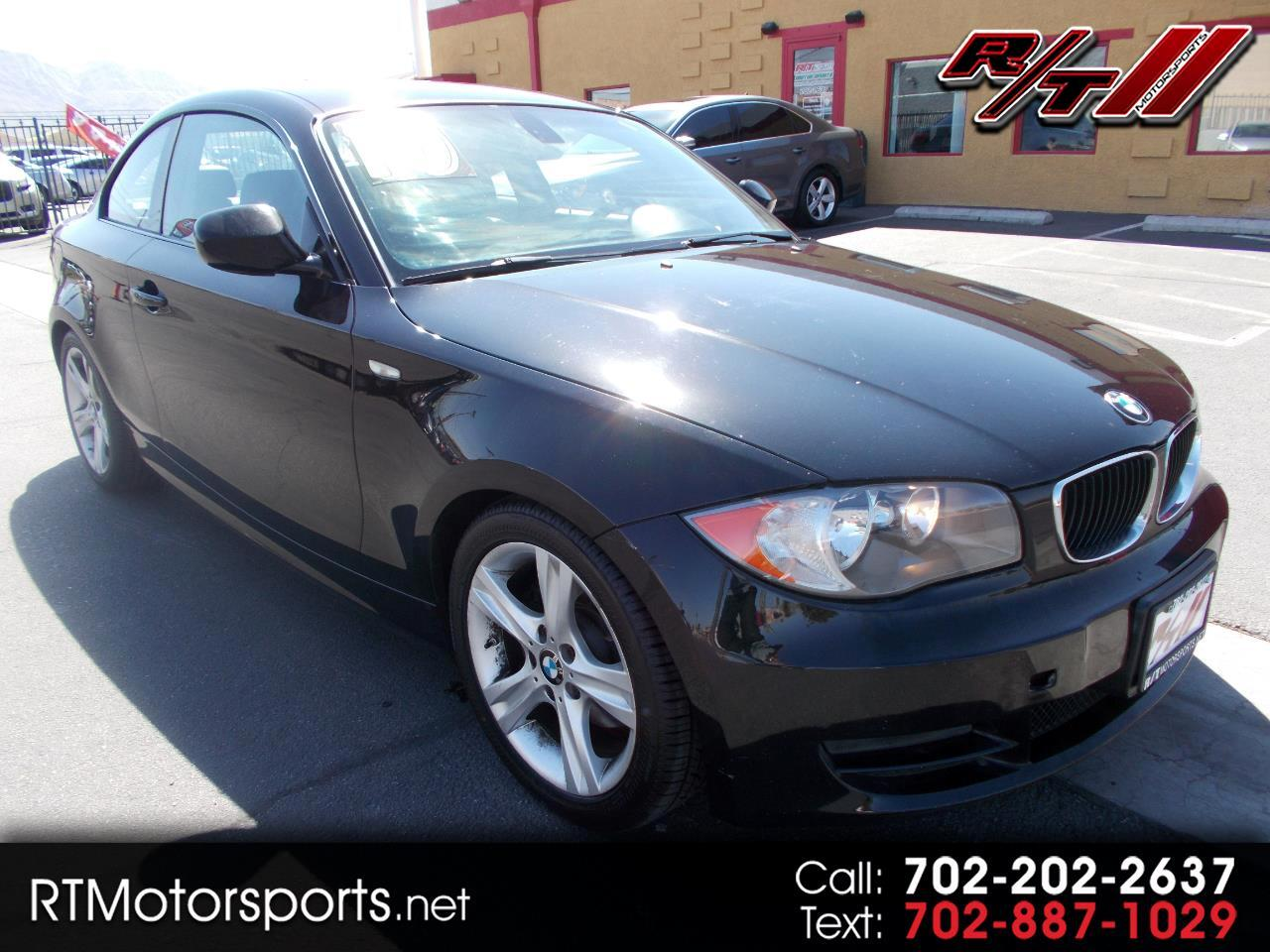 BMW 1-Series 128i Coupe 2010