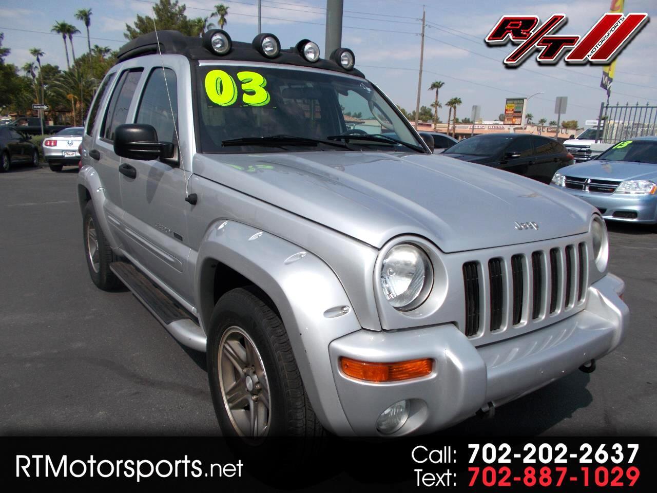 Jeep Liberty Renegade 2WD 2003