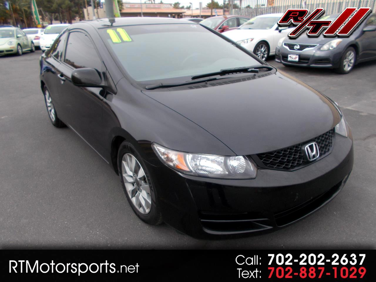 Honda Civic EX Coupe 5-Speed AT 2011