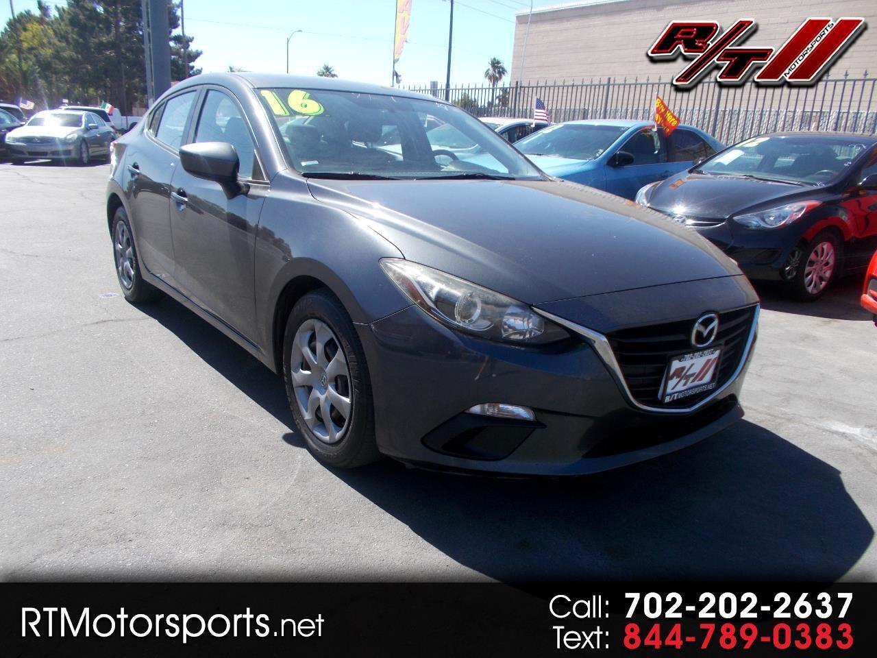 Mazda MAZDA3 i Sport AT 4-Door 2016