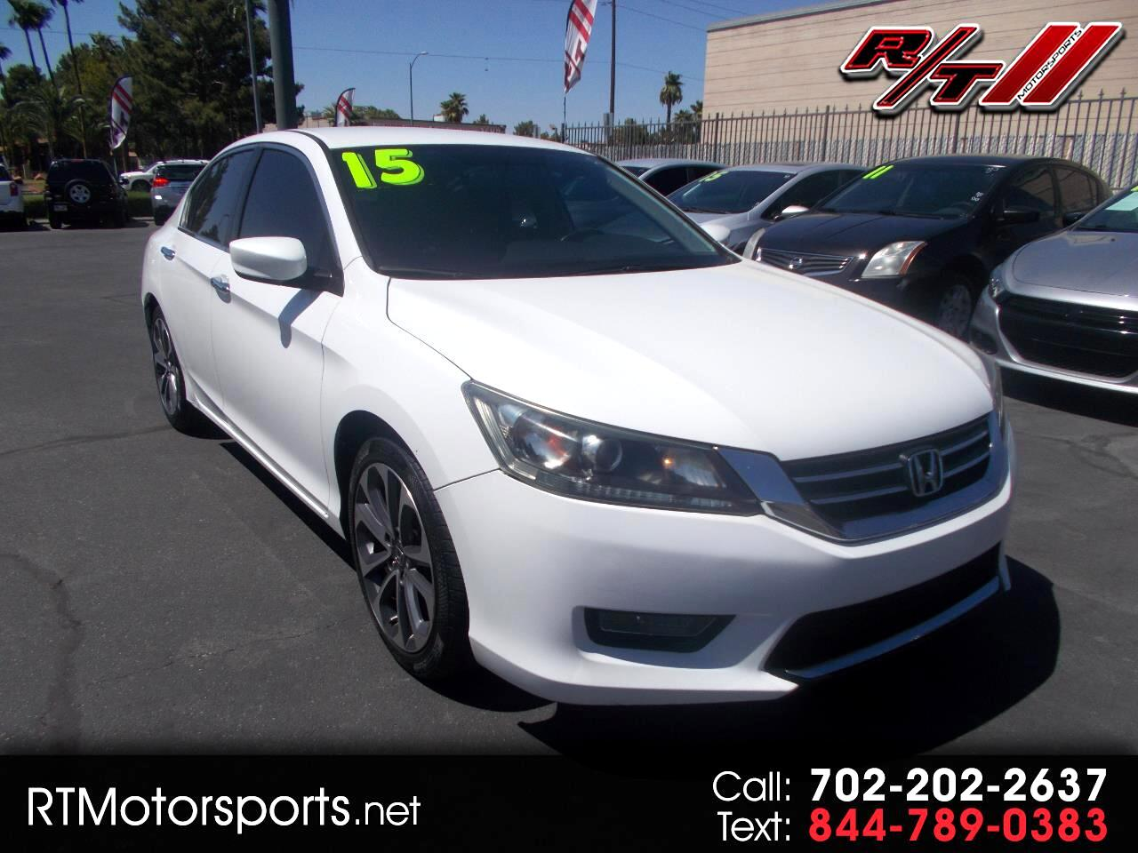 Honda Accord Sport Sedan CVT 2015