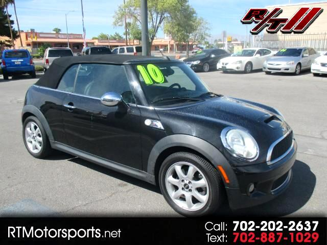 buy here pay here 2010 mini cooper s convertible for sale in las vegas nv 89110 rt motorsports. Black Bedroom Furniture Sets. Home Design Ideas