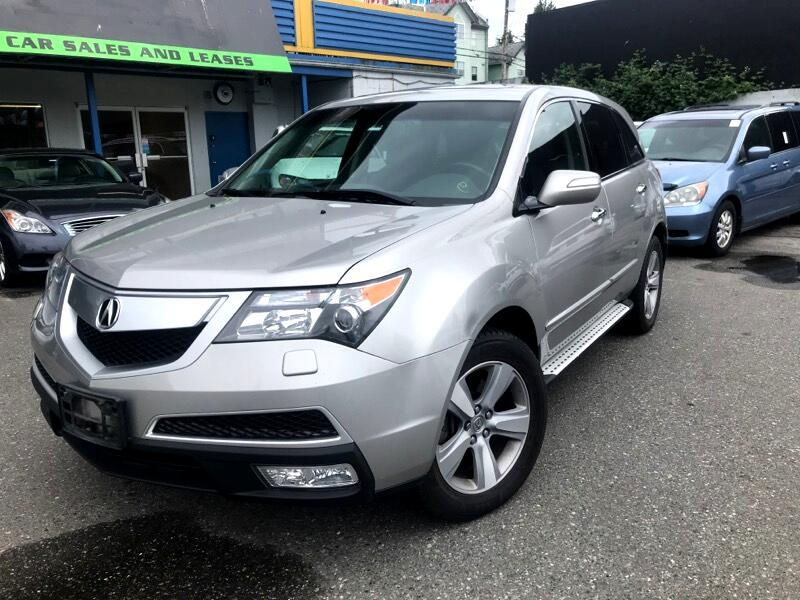 2012 Acura MDX 2012 Acura MDX Auto AWD 7Pass Fully Loaded With Al