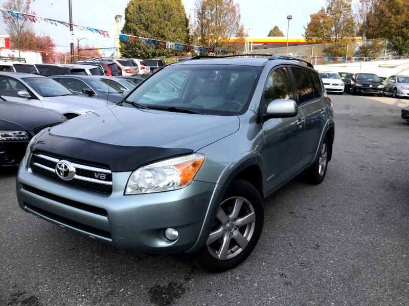 2008 Toyota RAV4 2008 Toyota Rav4 Auto 4WD Limited No Accident