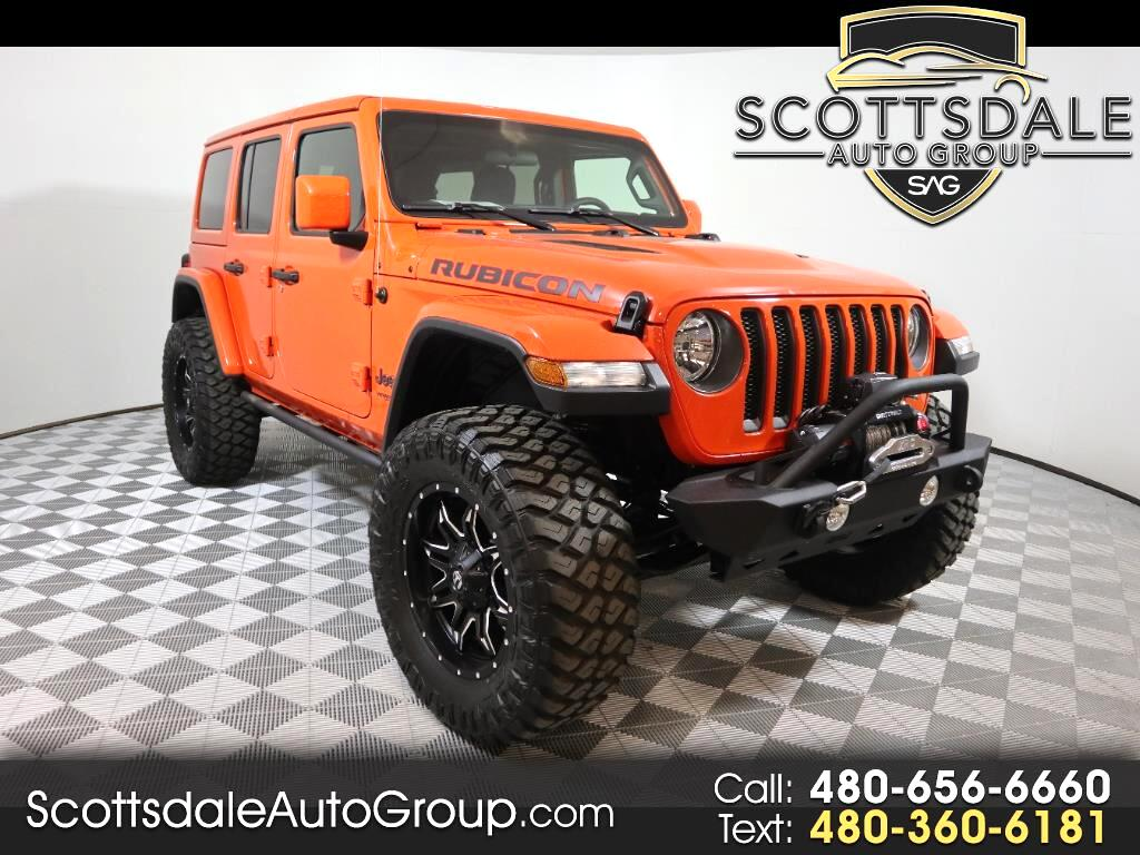 2018 Jeep Wrangler 4WD 4dr Unlimited Rubicon