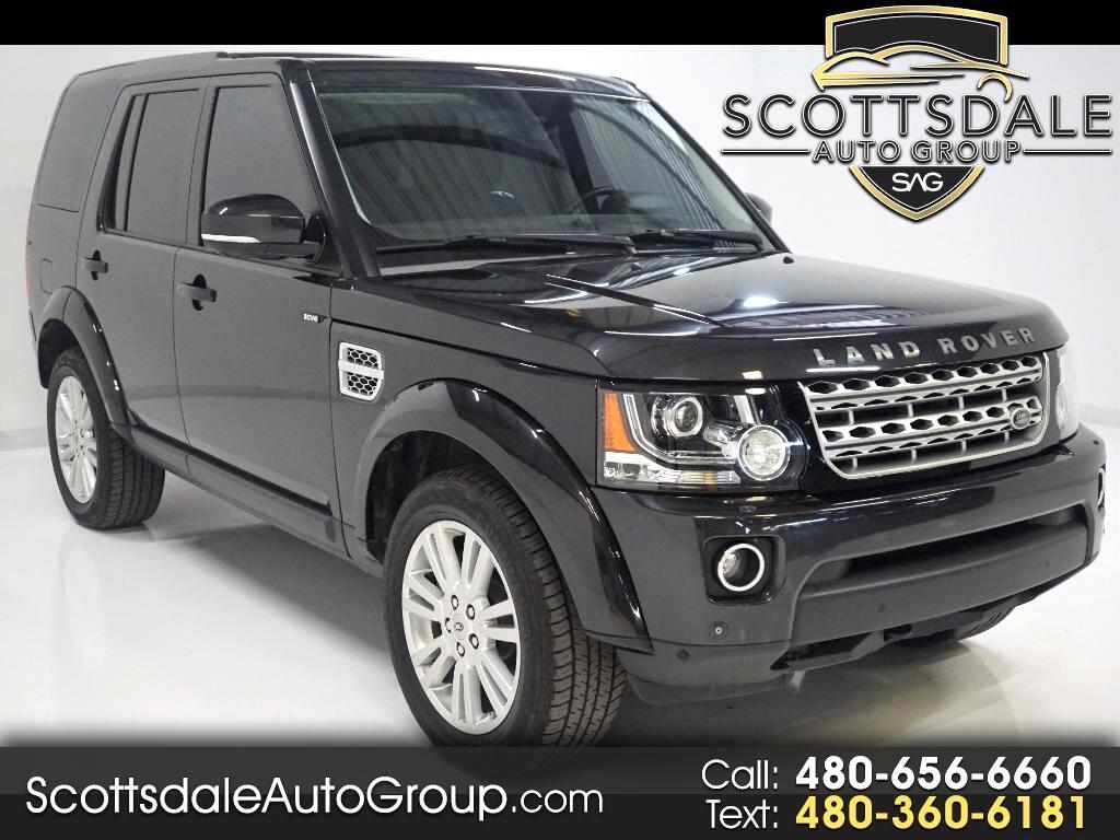 2014 Land Rover LR4 HSE Luxury