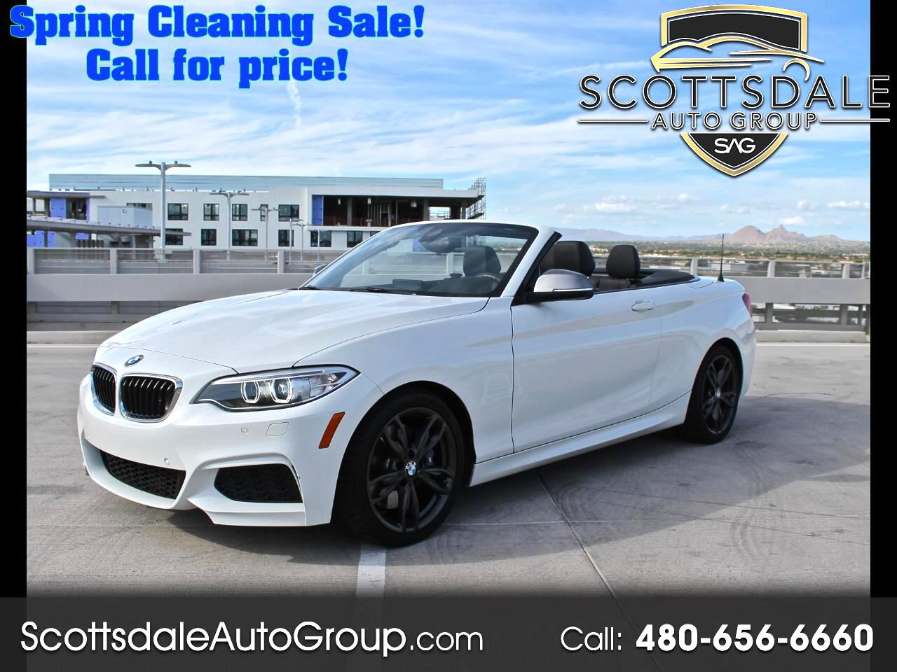 BMW 2 Series M240i Convertible 2017