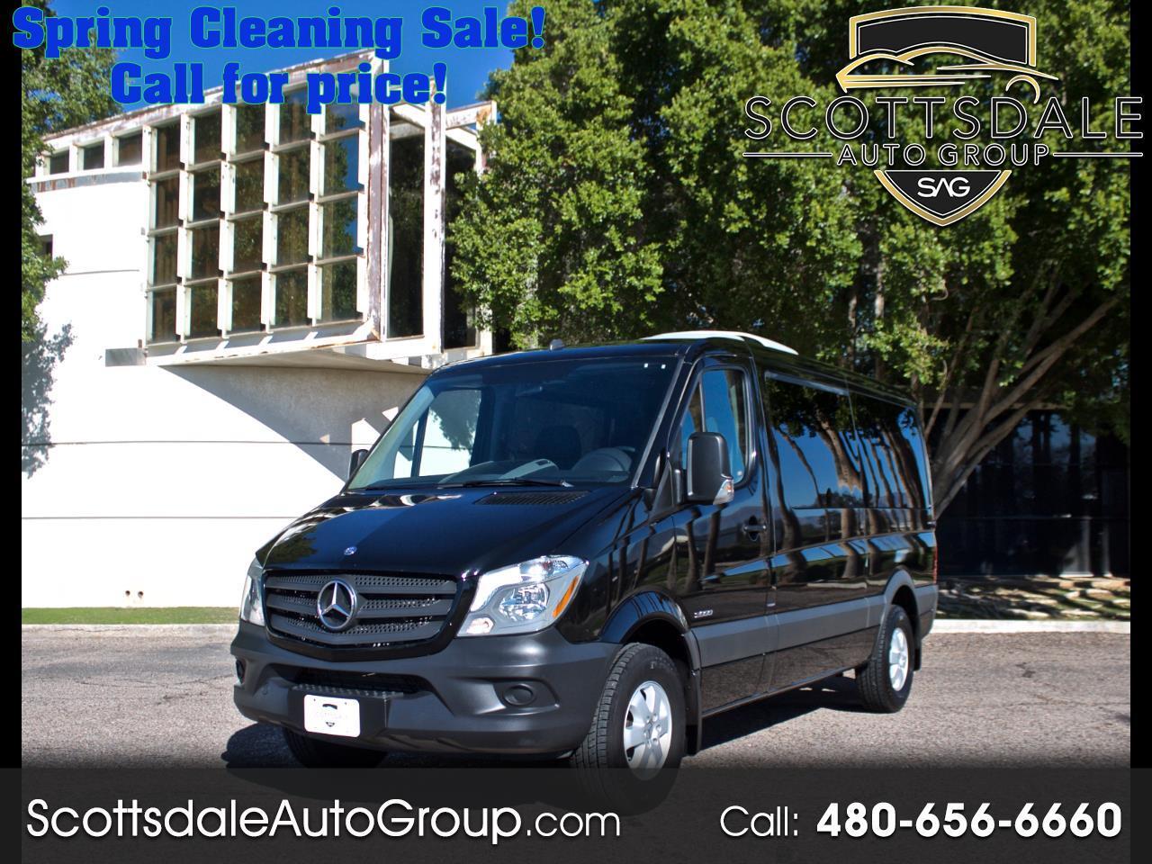 "Mercedes-Benz Sprinter Passenger Vans RWD 2500 144"" 2015"