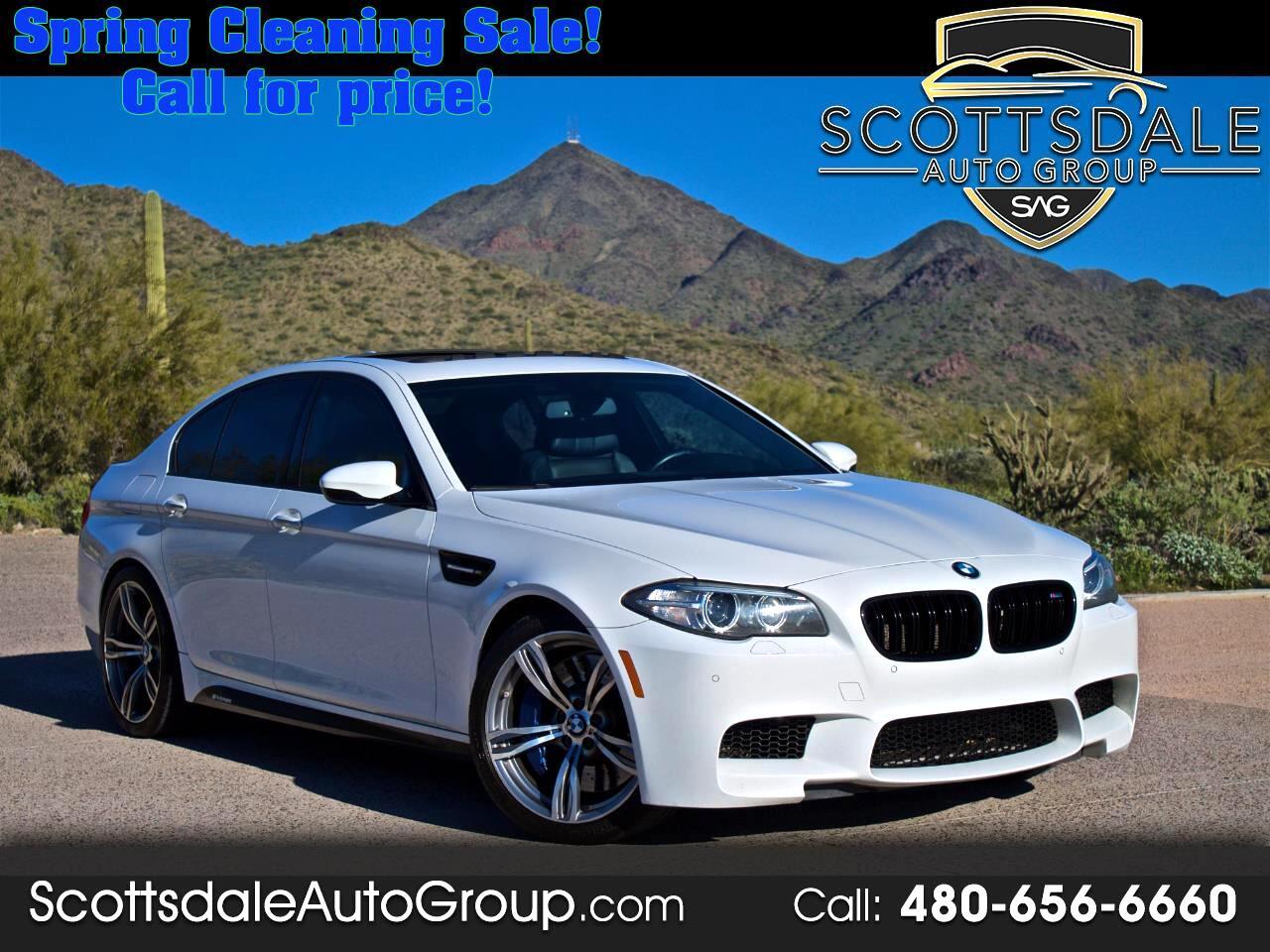 BMW M5 4dr Sdn 2014