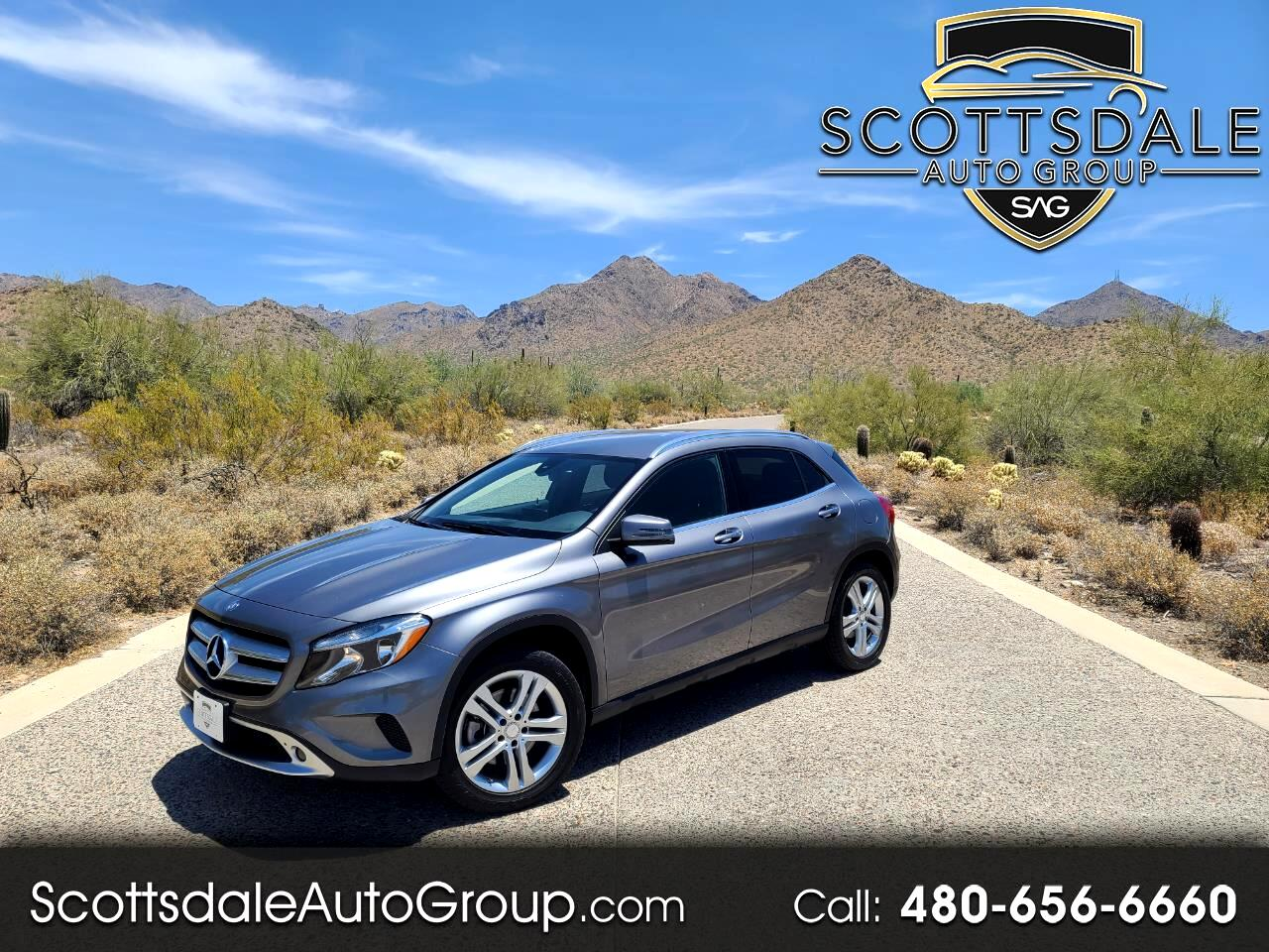 Mercedes-Benz GLA 4MATIC 4dr GLA 250 2016