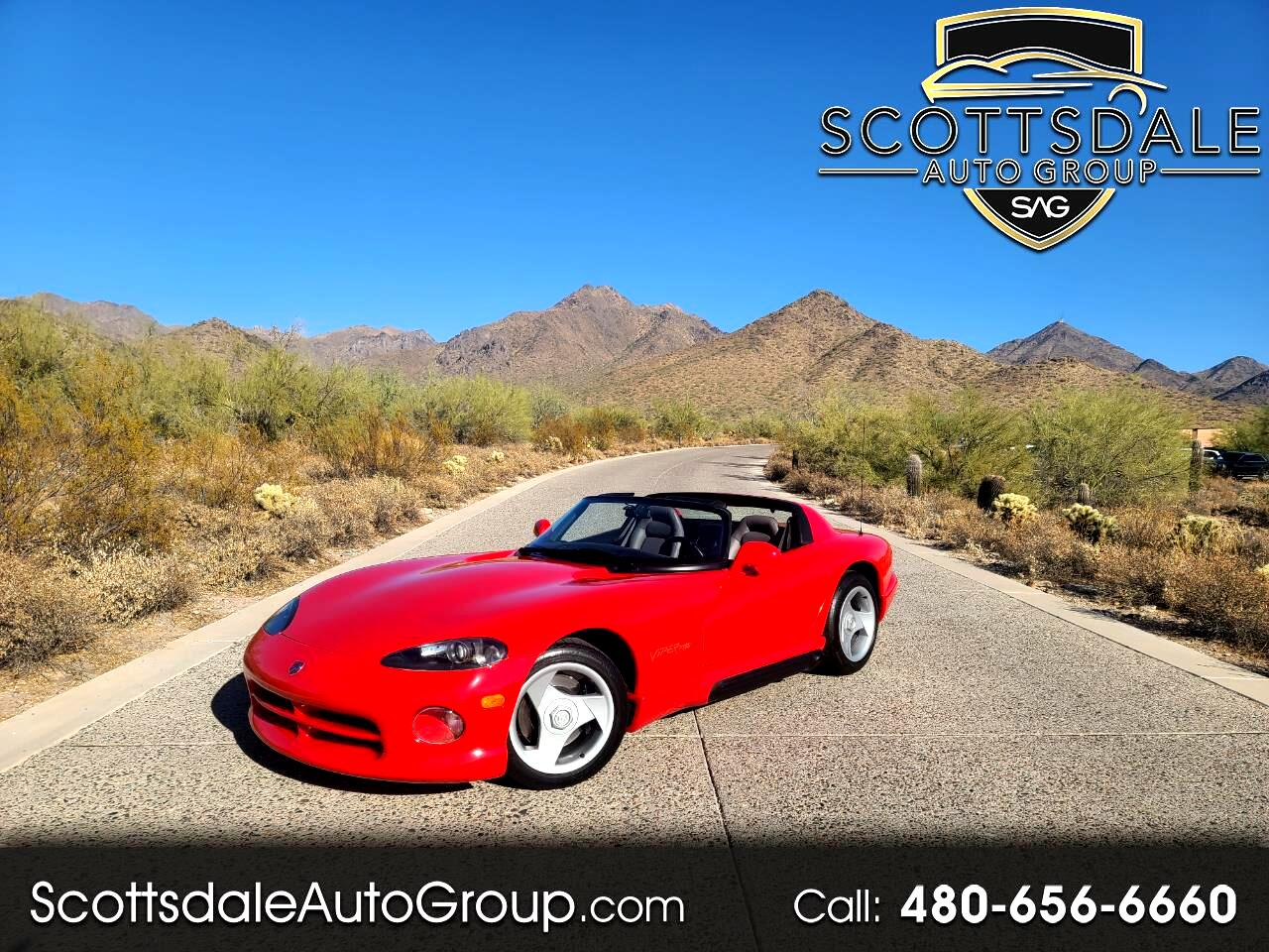 Dodge Viper 2dr Open Sports Car 1993