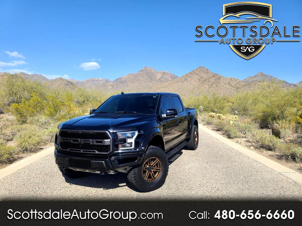 Ford F-150 Raptor 4WD SuperCrew 5.5' Box 2019