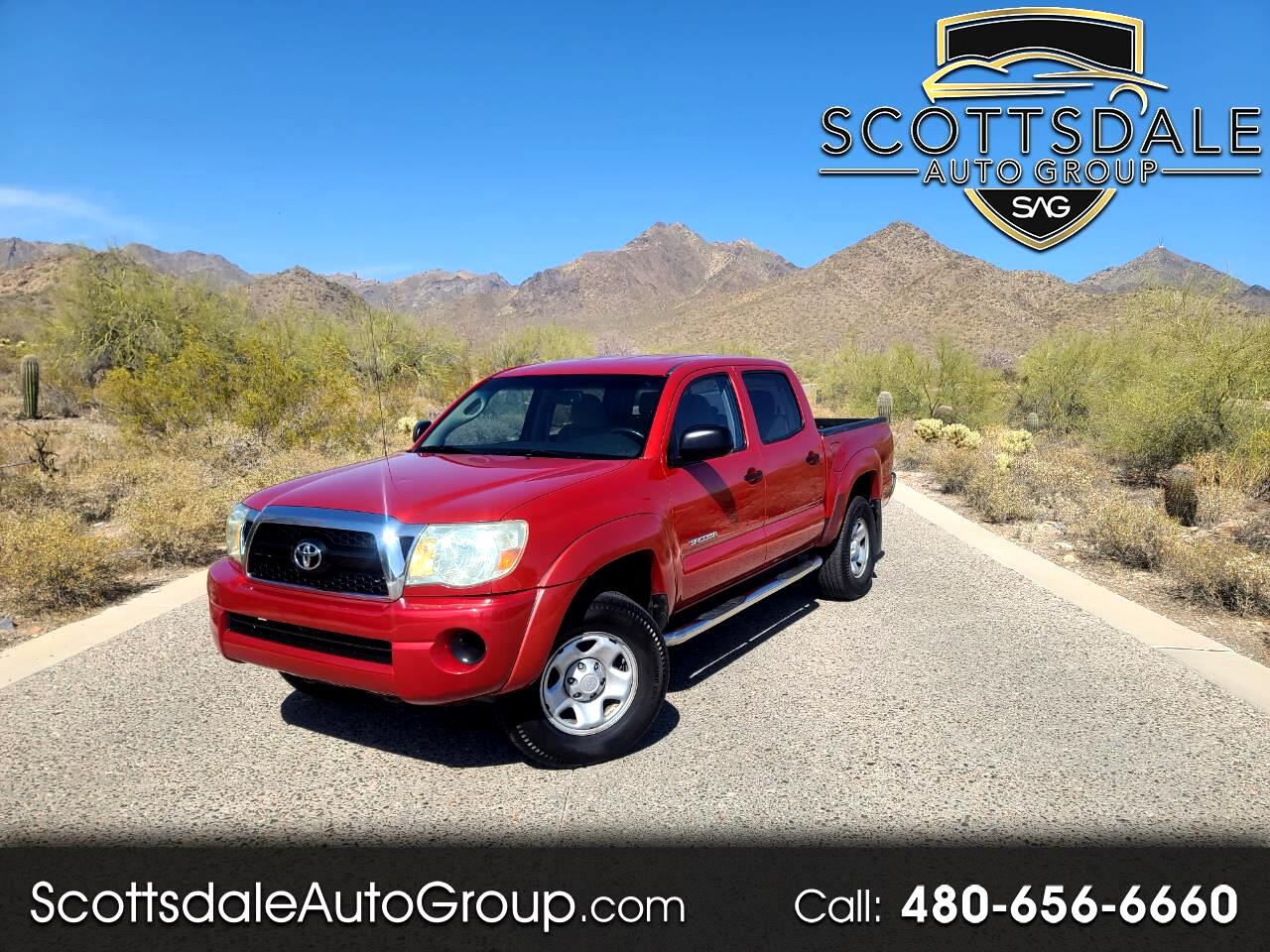 Toyota Tacoma 2WD Double I4 AT (Natl) 2011
