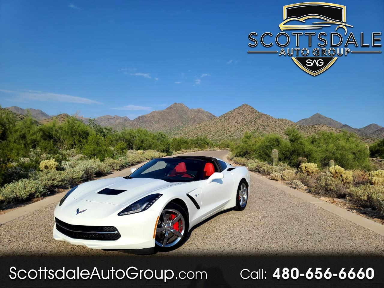 Chevrolet Corvette Stingray 2dr Cpe w/3LT 2014