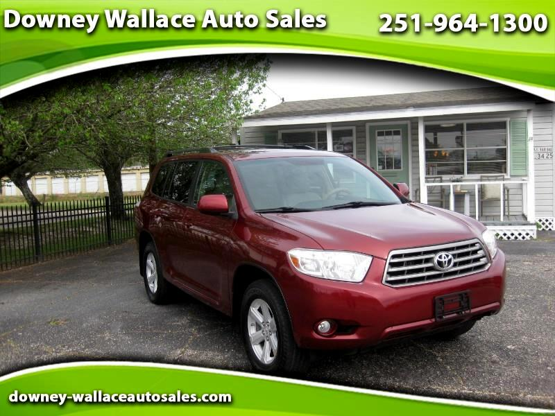 2010 Toyota Highlander V6 4WD with Third Row Seat