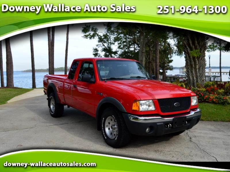 "2002 Ford Ranger 4dr Supercab 126"" WB FX4 Off-Rd 4WD"