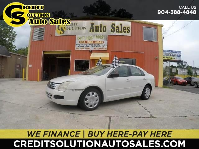 2008 Ford Fusion 4dr Sdn I4 S