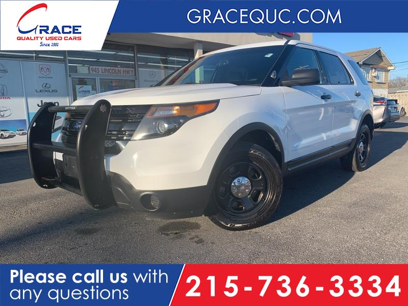2015 Ford Explorer Police 4WD