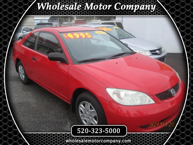 2005 Honda Civic VP coupe