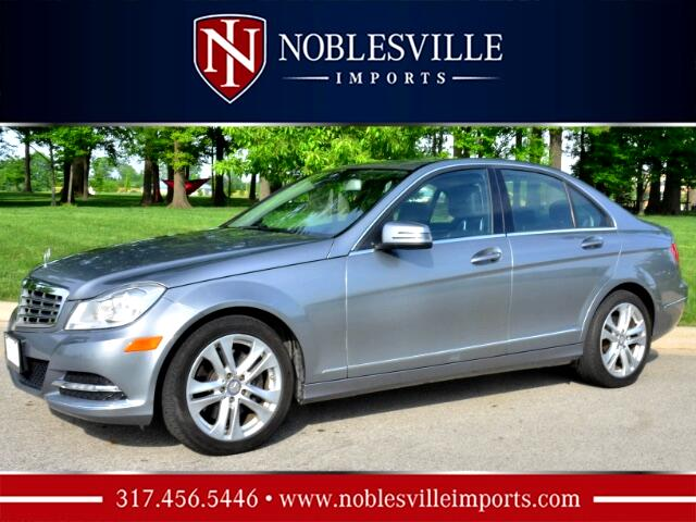 2013 Mercedes-Benz C-Class C300 4MATIC Luxury Sedan