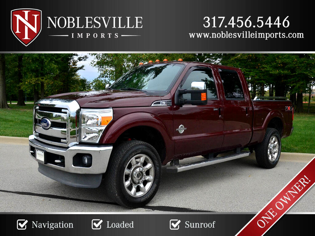 "2011 Ford Super Duty F-350 SRW Supercab 158"" Lariat 4WD"