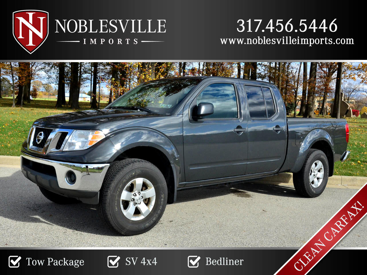 2011 Nissan Frontier 4WD Crew Cab LWB Auto SV