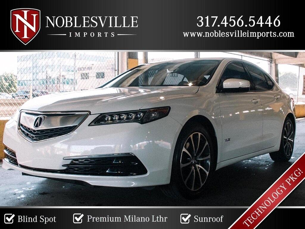 Acura TLX 9-Spd AT w/Technology Package 2016