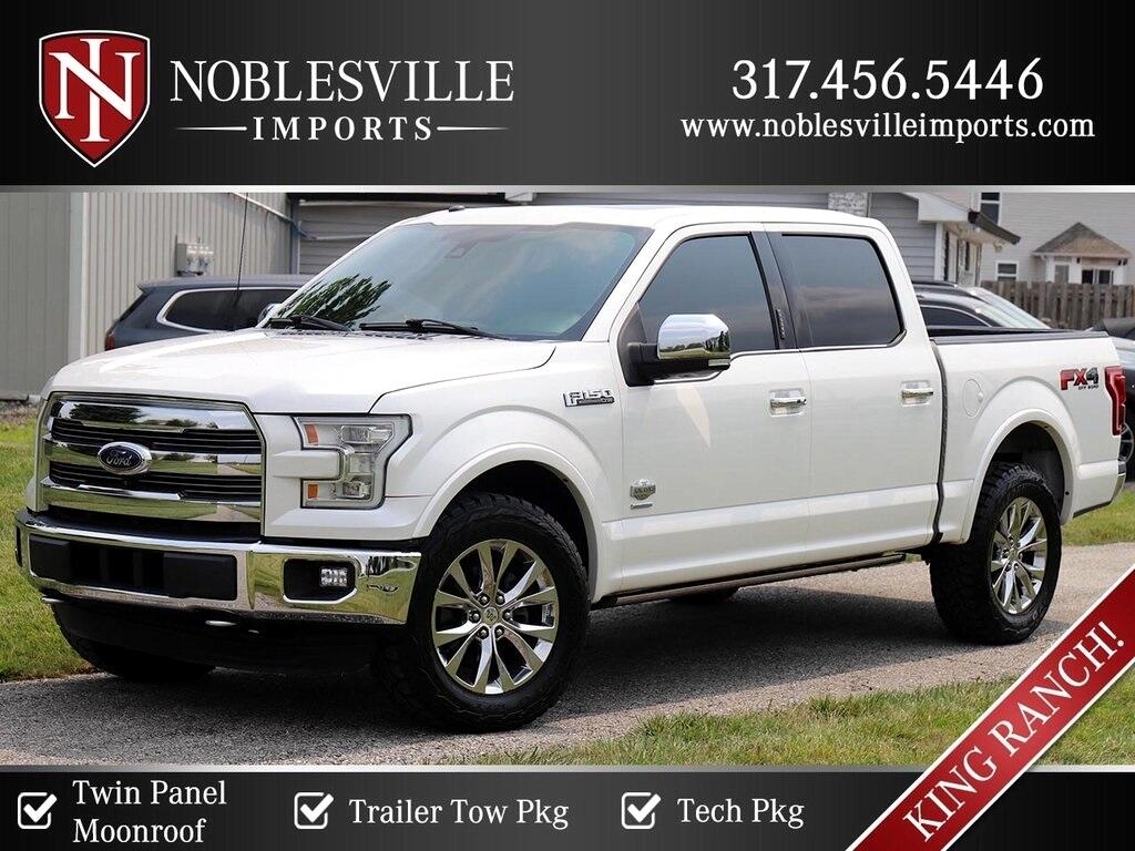 Ford F-150 King Ranch SuperCrew 4WD 2016