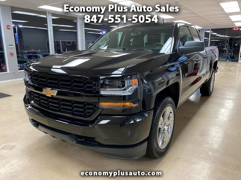Chevrolet Silverado 1500 Custom Double Cab 4WD 2017