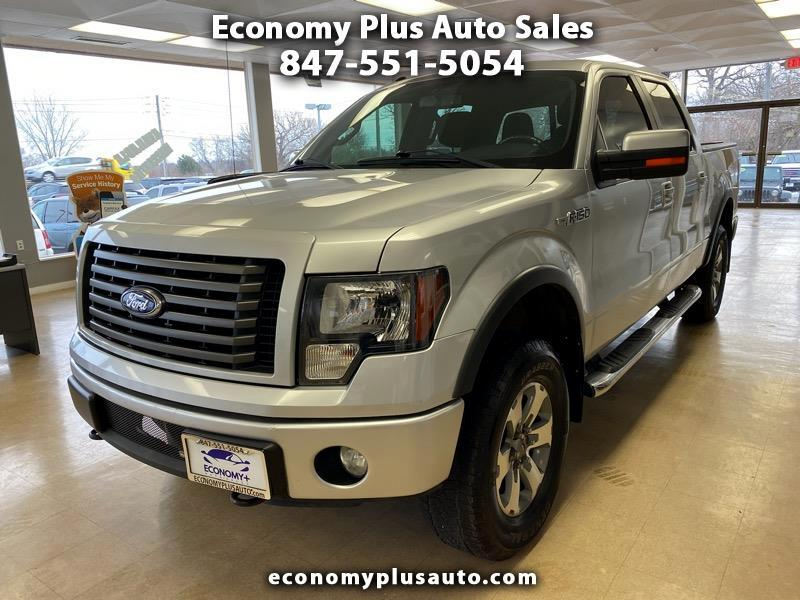 "Ford F-150 4WD SuperCrew 157"" FX4 2011"
