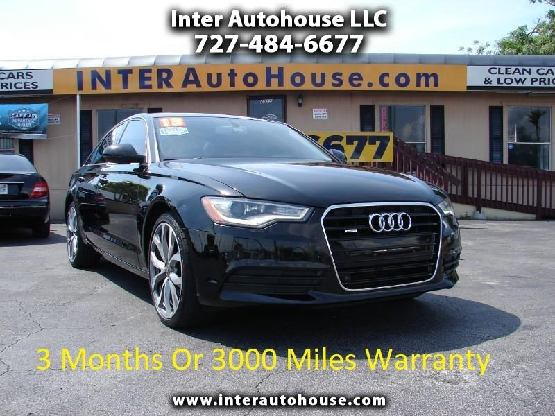 2013 Audi A6 2.0T Premium Plus FrontTrak Multitronic