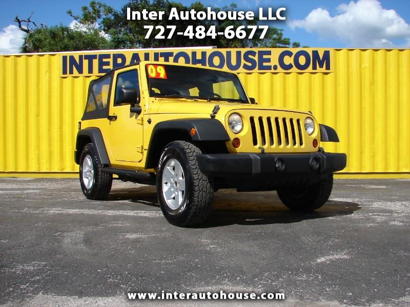 Jeep Wrangler 4WD 2dr X 2009