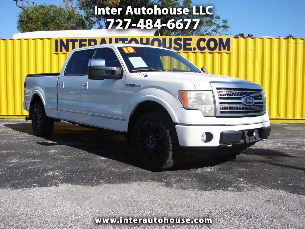 "Ford F-150 4WD SuperCrew 157"" Platinum 2010"