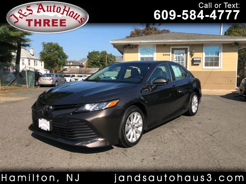 2018 Toyota Camry 4dr Sdn I4 Auto LE (Natl)