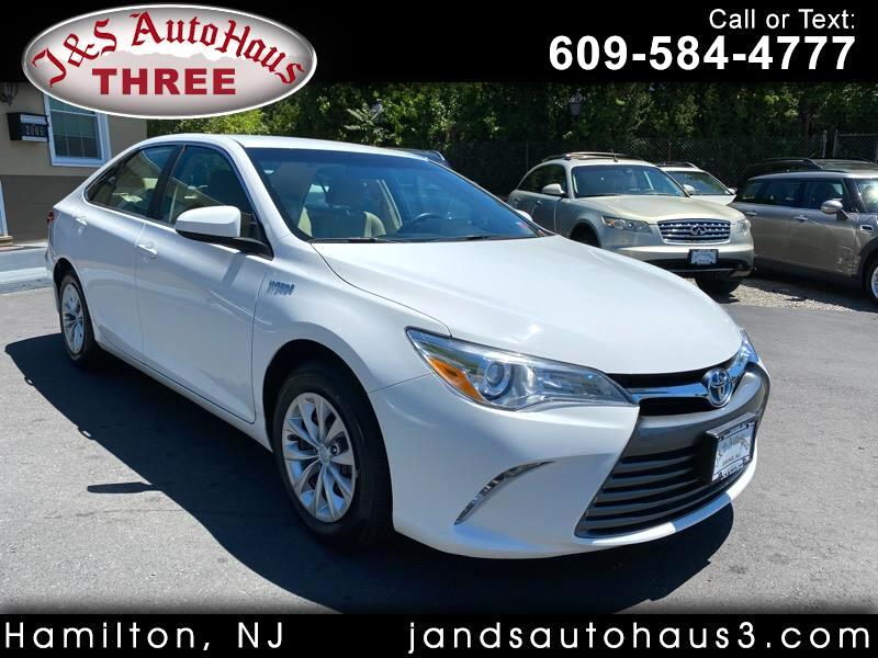 Toyota Camry Hybrid 4dr Sdn LE (Natl) 2017