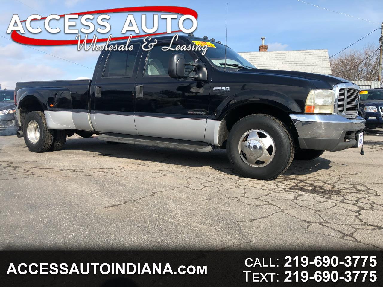 2000 Ford F-350 SD XL Crew Cab Short Bed 2WD DRW