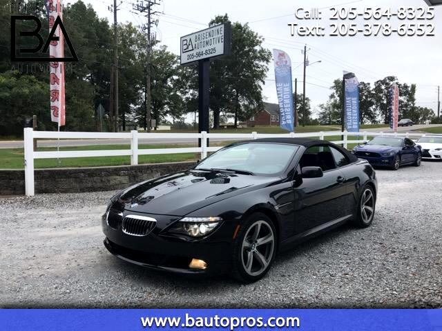 2009 BMW 6-Series 650i Convertible
