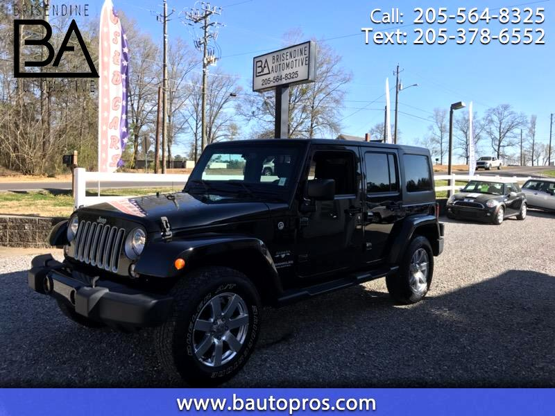 2016 Jeep Wrangler 4WD 4dr Unlimited Sahara
