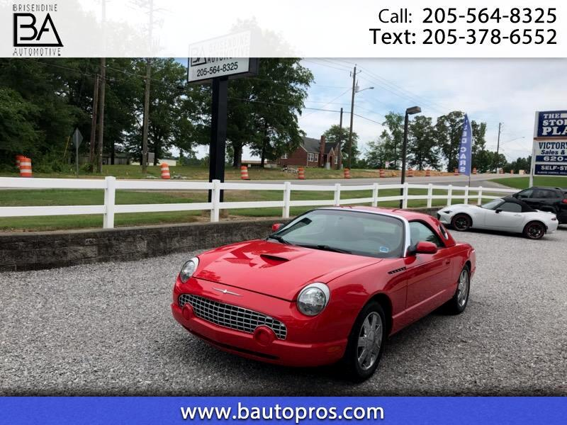 2002 Ford Thunderbird Deluxe with removable top