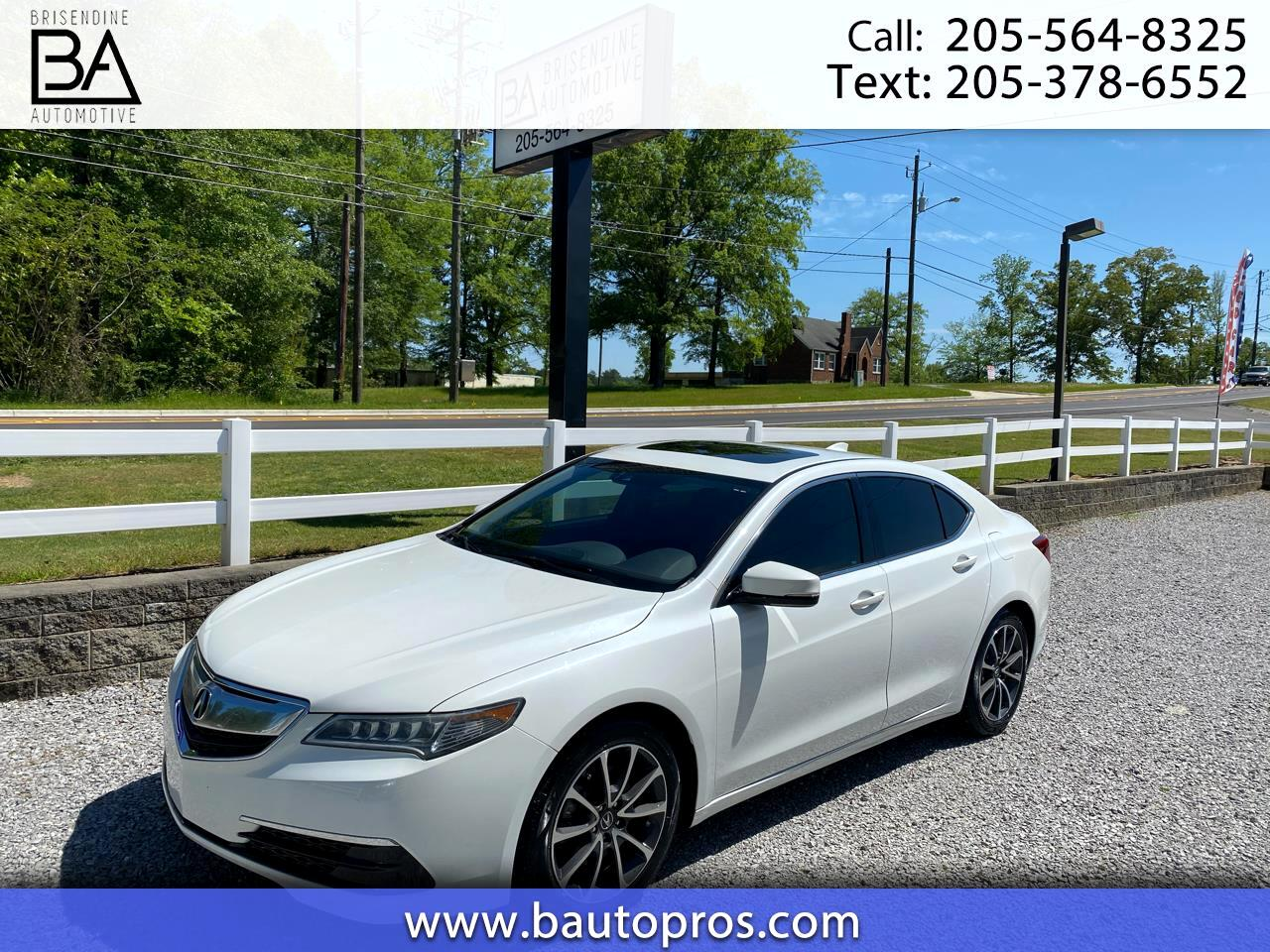 Acura TLX 4dr Sdn FWD V6 Tech 2015