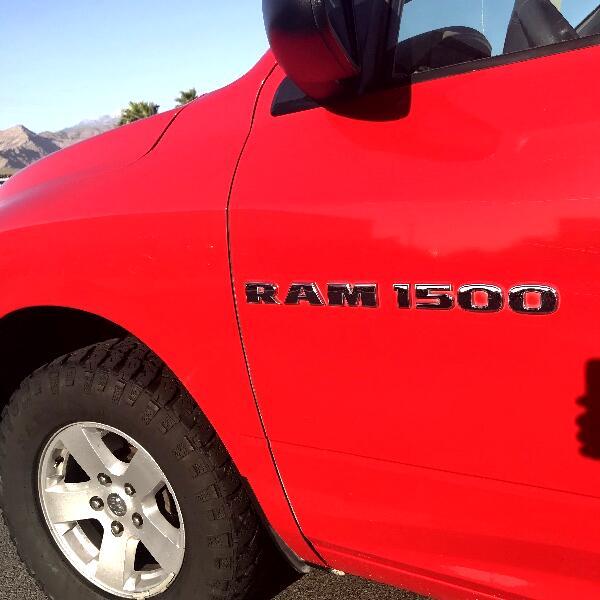 RAM 1500 SLT Quad Cab 4WD 2012