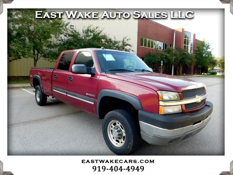 Chevrolet Silverado 2500HD LT Crew Cab Long Bed 4WD 2004