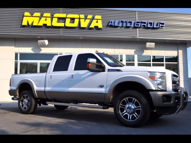 2014 Ford F-350 SD King Ranch Crew Cab 4WD DRW